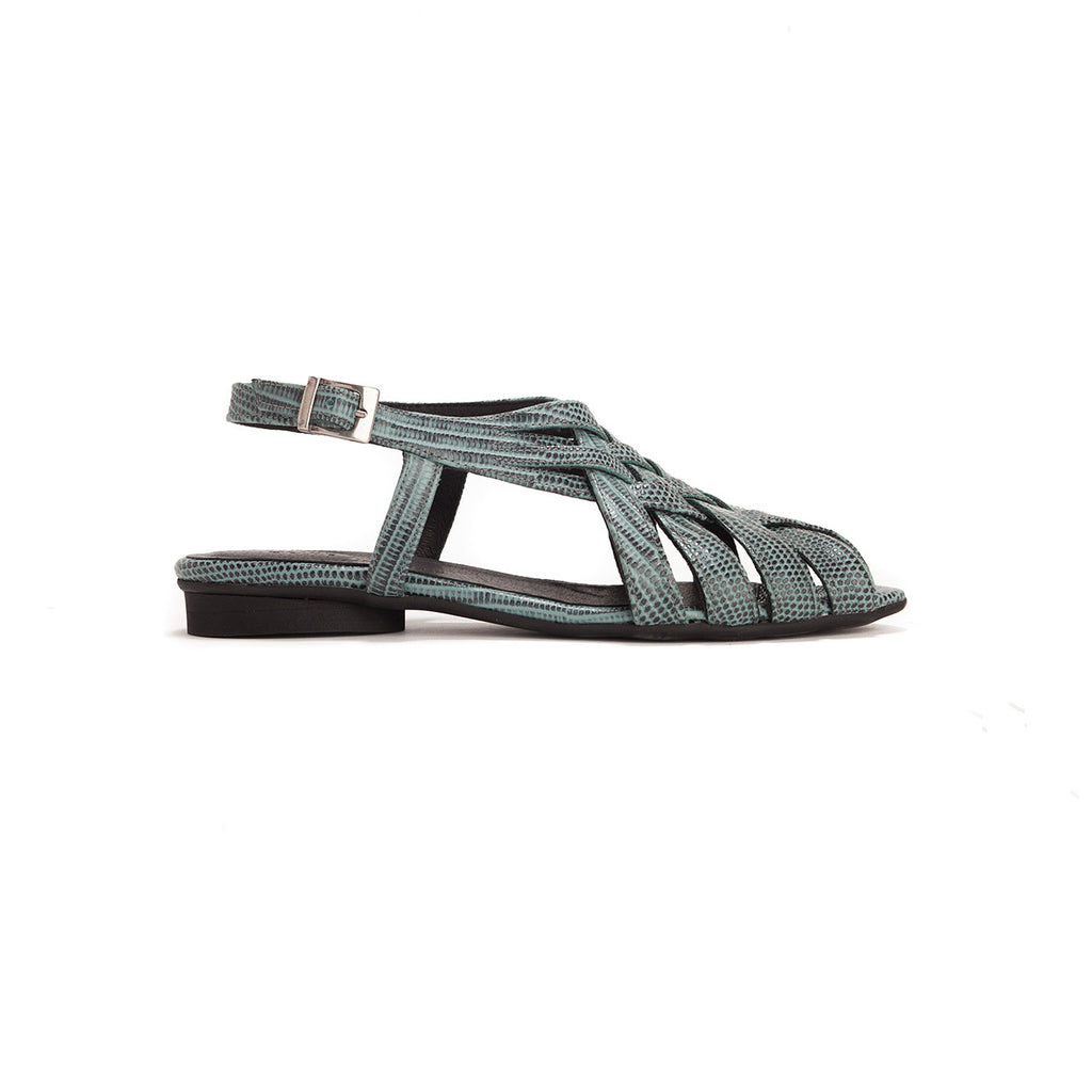 Saidy - Woven Leather Sandals