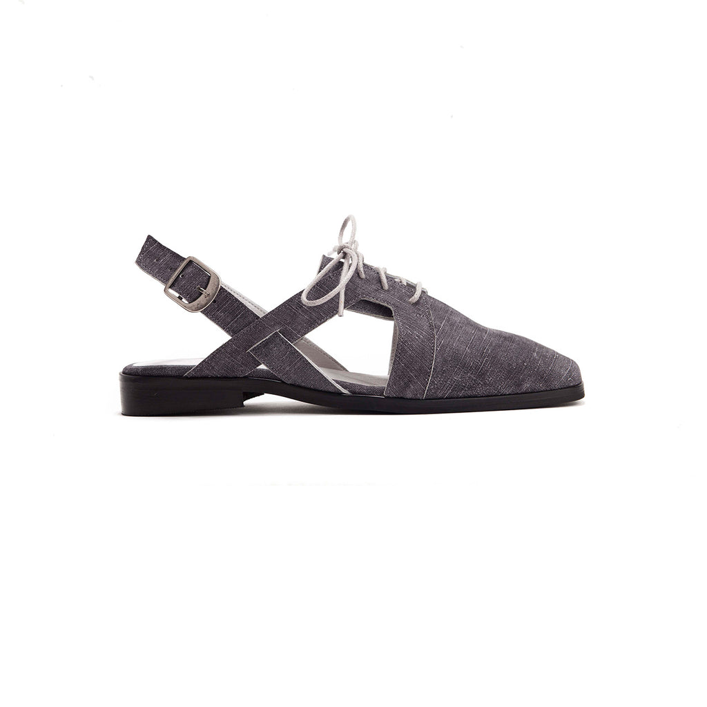 Sam - Slingback Tie Shoes