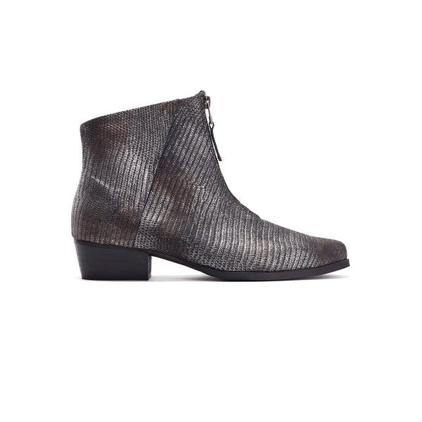 Sue- Zipper Ankle Boot