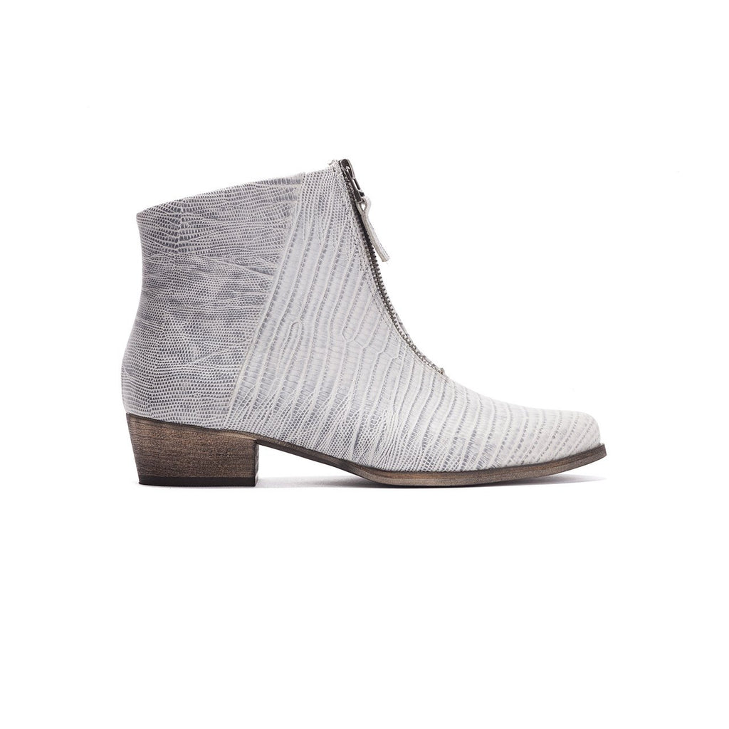 Sue- Snake Print Ankle Boot