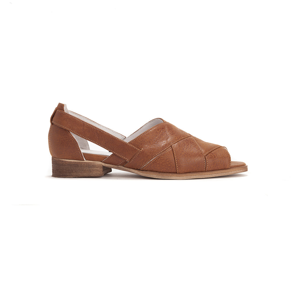 Summer - Brown Leather Sandals