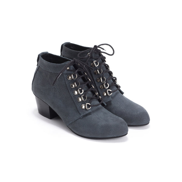 Grey Military Boots - Tom