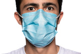 DAMAGED BOX-NEW 4-Ply ASTM Level 3 Surgical Masks (Blue) by PlastCare USA
