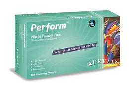EXTRA LARGE Aurelia Perform Nitrile Powder Free Gloves (Box of 200)