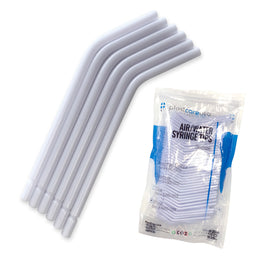 250 x White (No Core) Air-Water Syringe Tips (1 Bag)