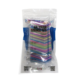 250 Air-Water Syringe Tips, Rainbow Variety