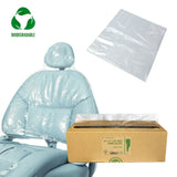 "27 1/2"" x 24"" Dental Chair Headrest Cover Sleeves (Box of 225)"