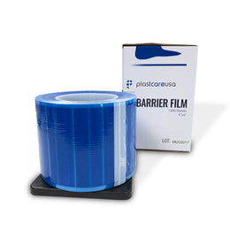 "8 x Blue Barrier Film, 4"" x 6"", 1200 Sheets (1 Case of 8 Rolls)"