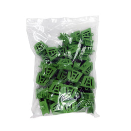 5 x Bite Block Autoclavable Silicone Mouth Props (Medium - Green)