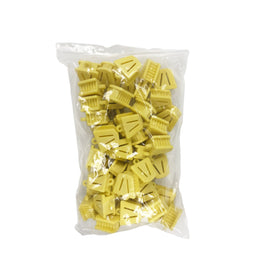10 x Bite Block Autoclavable Silicone Mouth Props (Small - Yellow)