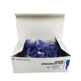 700 Purple Anterior Bite Registration Impression Trays (20 Boxes of 35)