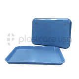 12 Blue Dental Set Up Instrument Autoclave Tray, 13 1/4″ x 9 3/4″ (Size B)