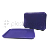 Purple Dental Set Up Instrument Autoclave Flat Tray, 13 1/4″ x 9 3/4″ (Ritter Size B) by PlastCare USA