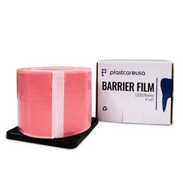 "8 x Pink Barrier Film, 4"" x 6"", 1200 Sheets (1 Case of 8 Rolls)"