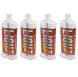 4 x VPS Light Body Fast Set Impression Material 50 mL Cartridges