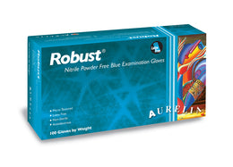 EXTRA LARGE XL Aurelia Robust Nitrile Powder Free Examination Gloves (Box of 100)