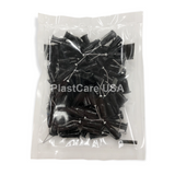 500 x Black Flow Sealant Pre-Bent Applicator Needle Tips, 20 Gauge (5 Bags of 100)