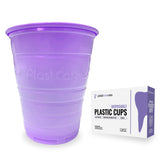 1000 Purple Plastic Disposable Ribbed Drinking Dental Cups, 5 Oz by PlastCare USA