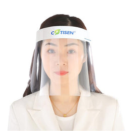 10 Disposable Safety Protective Medical Anti-Splash Face Shields