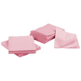 500 Pink 3-Ply 13x18 Dental Patient Towel Bibs (Case of 500) by PlastCare USA