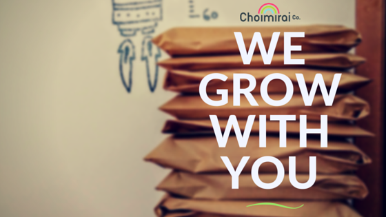 WE GROW WITH YOU