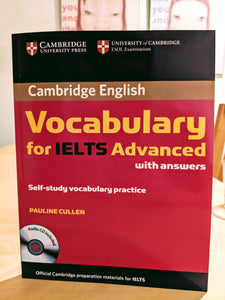 IELTS公式:Vocabulary for IELTS Advanced with Answers and Audio CD