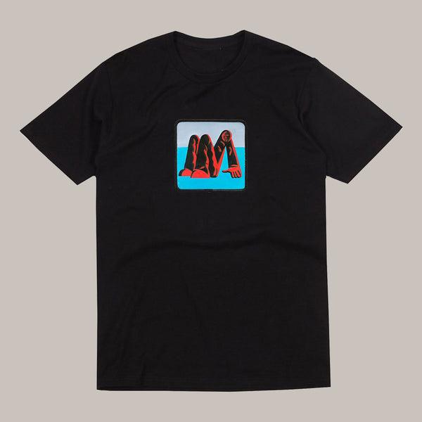MAN ALIVE! BLACK T-SHIRT