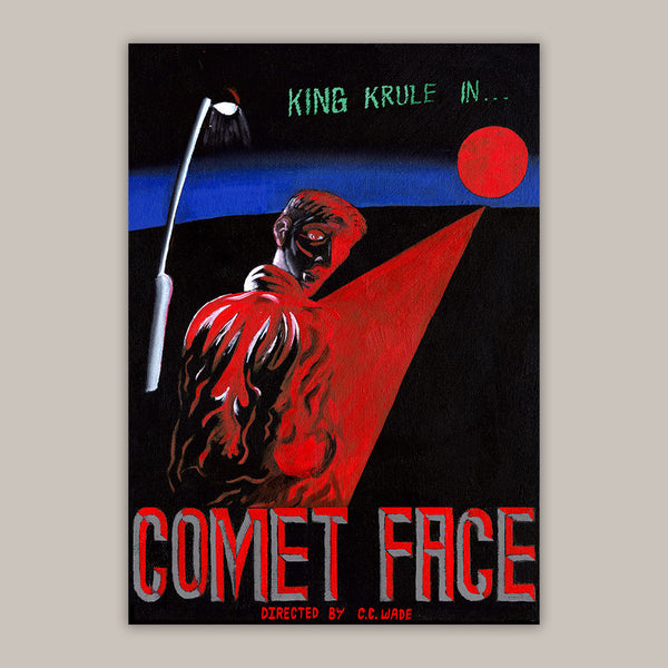 COMET FACE A2 POSTER