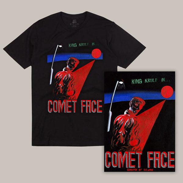 COMET FACE TEE/POSTER BUNDLE