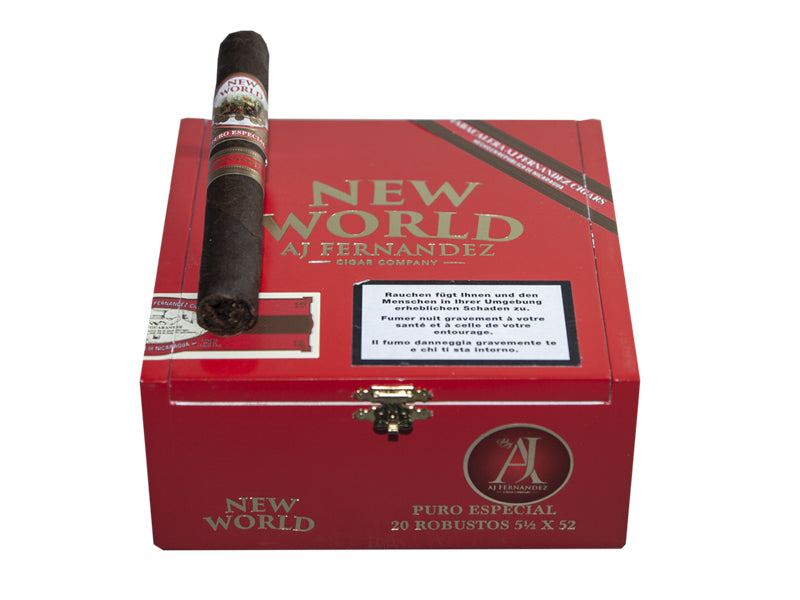 AJ Fernandez NEW WORLD Puro Especial Robusto