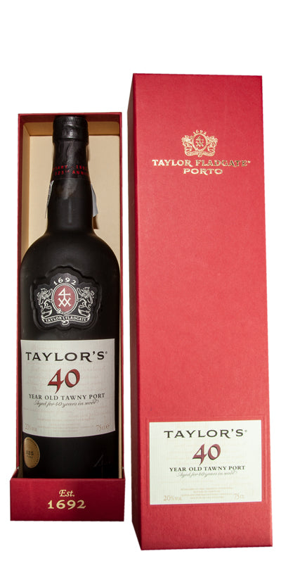 Taylor's Port 40yr old Tawny