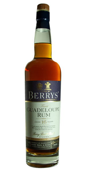 Rum Berrys' Own Selection Guadeloupe 16yrs