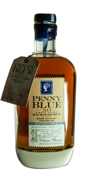 Rum Berry Bros Penny Blue, XO Single Estate, Mauritian Rum, Batch No 005