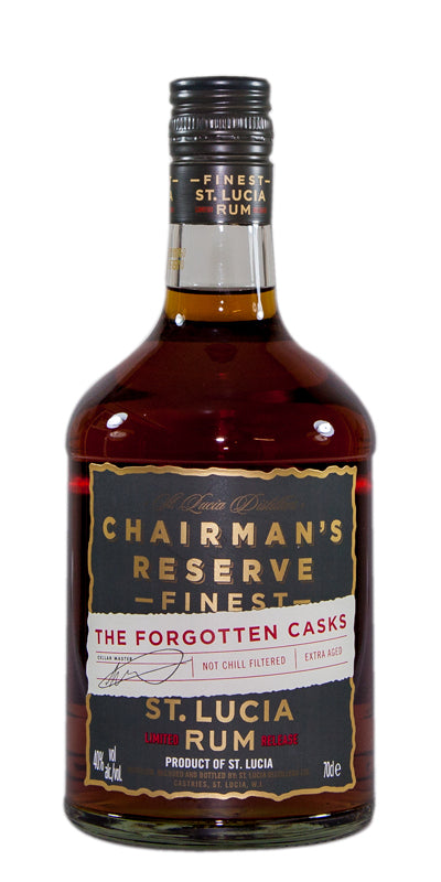 Rum Chairman's Reserve Finest Saint Lucia - The Forgotten Casks