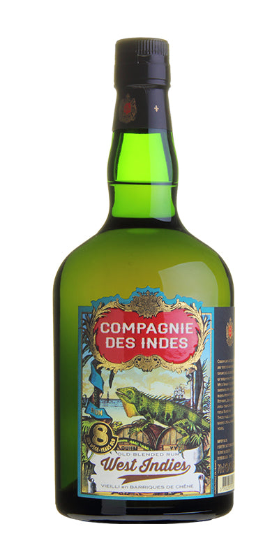 "Rum Compagnie des Indes Blend ""West Indies"" 8yr old"
