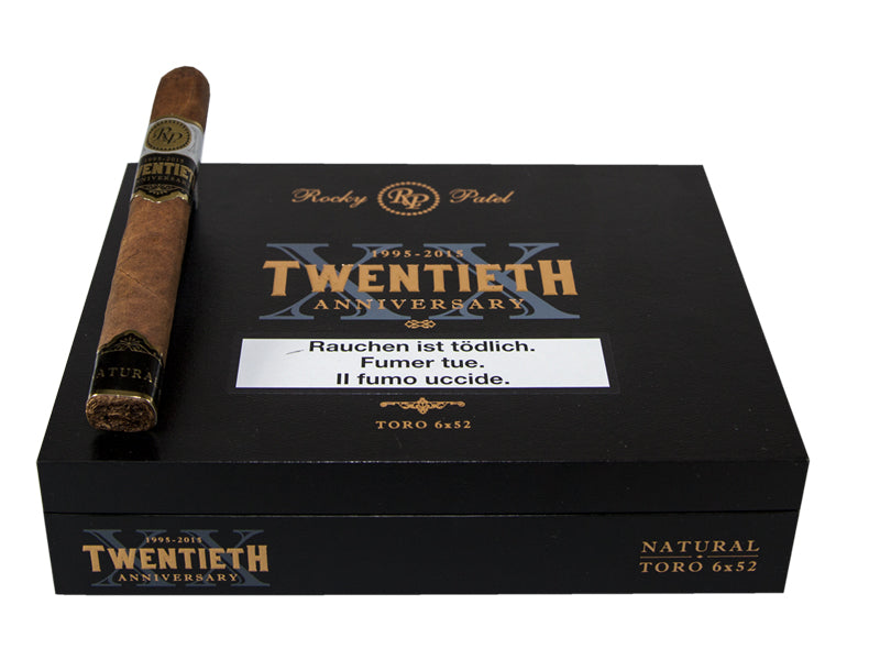 Rocky Patel 20th Anniversary Natural Toro