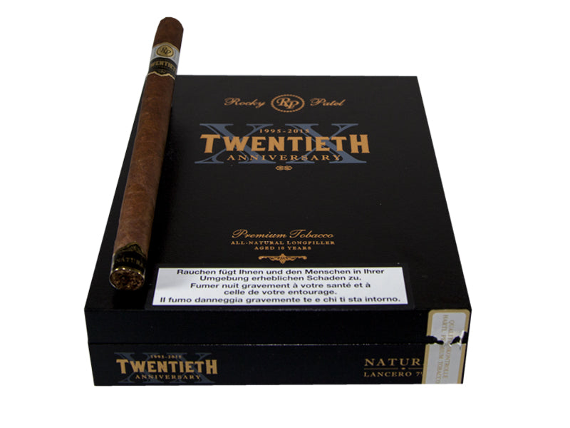 Rocky Patel 20th Anniversary Natural Lancero