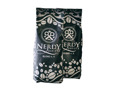 Kaffee Nerdy Barista Blend No. 5 by Cuba d'Oro