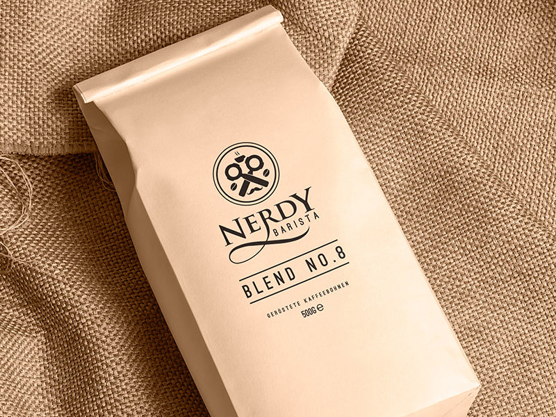 Kaffee Nerdy Barista Blend No. 8 by Cuba d'Oro