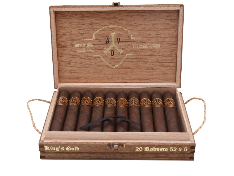 ADVentura The Royal Return King's Gold Robusto