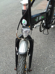second hand folding electric bike front light