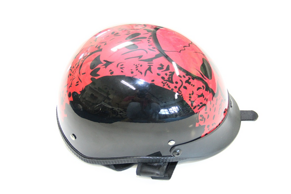 Helmet | RED - SKULL