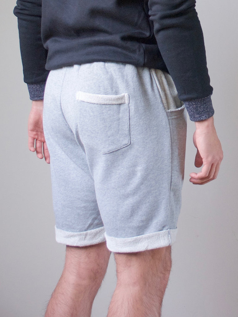 Mens Terry Shorts Marle