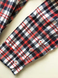 Men's Flannel Shirt (Red Check)