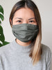 COTTON/LINEN Reusable Face Mask - 3 Layers with Filter