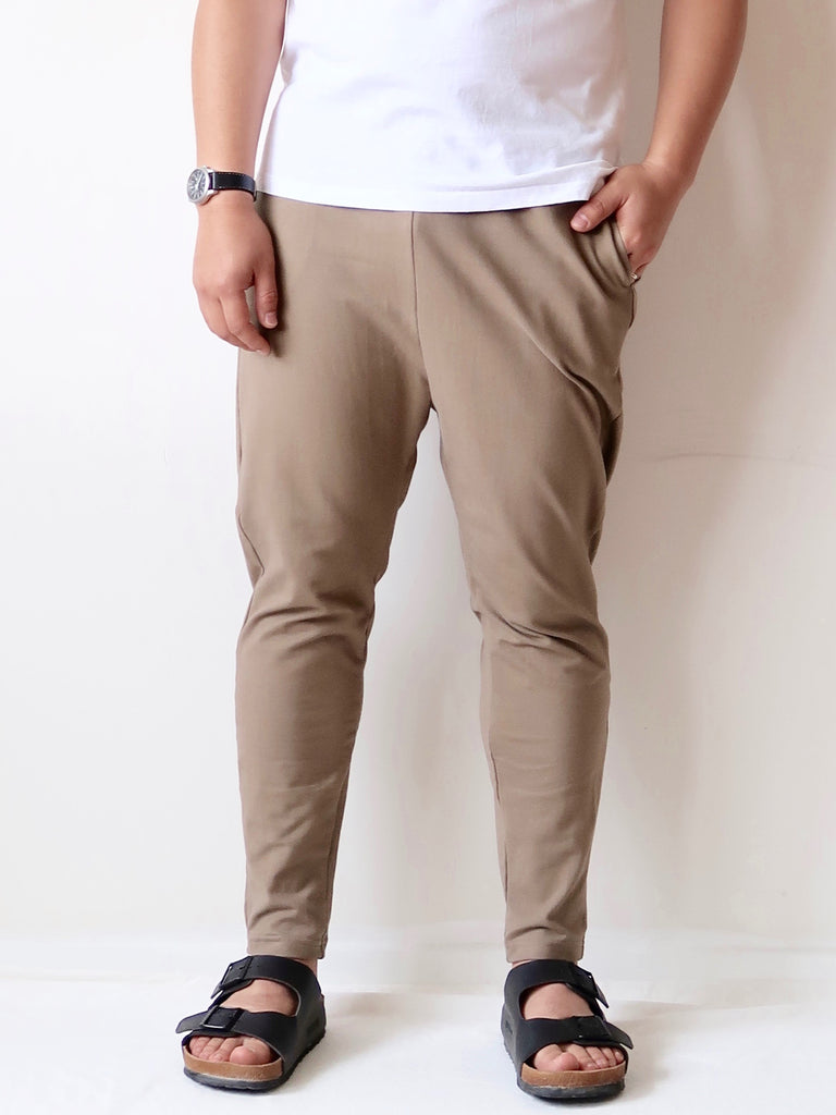 Men's Organic Cotton Joggers - Khaki