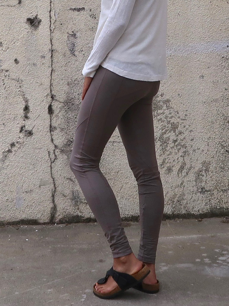 Women's Organic Cotton Leggings - Khaki