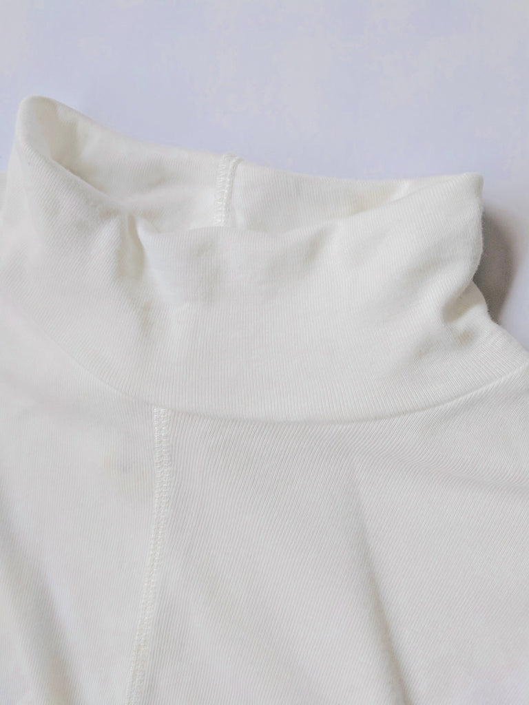 Women's Organic Cotton Skivvy (White)