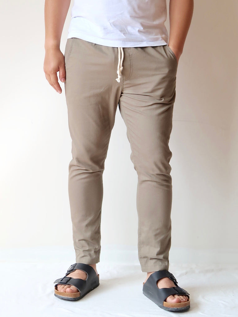 Men's Casual Pants - Khaki