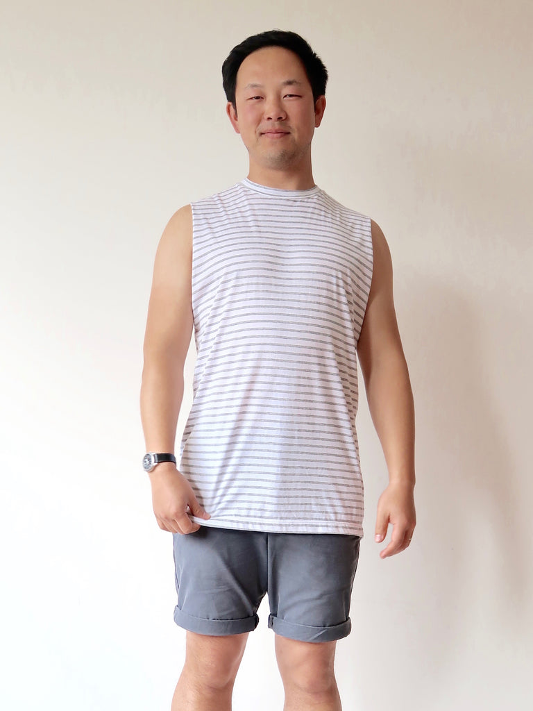 Men's Tank Top (Stripe)